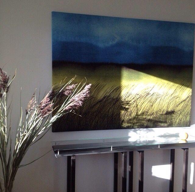 """Vackra """"kuuskajaskari"""" från Marimekko som väggbild"""