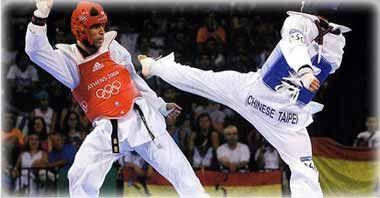 defensa y ataque, taekwondo