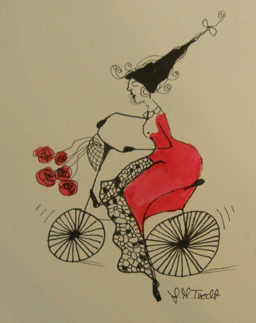 Jane Monica Tvedt - Empire of heart: Some hours before Tours de fjords - Humor…