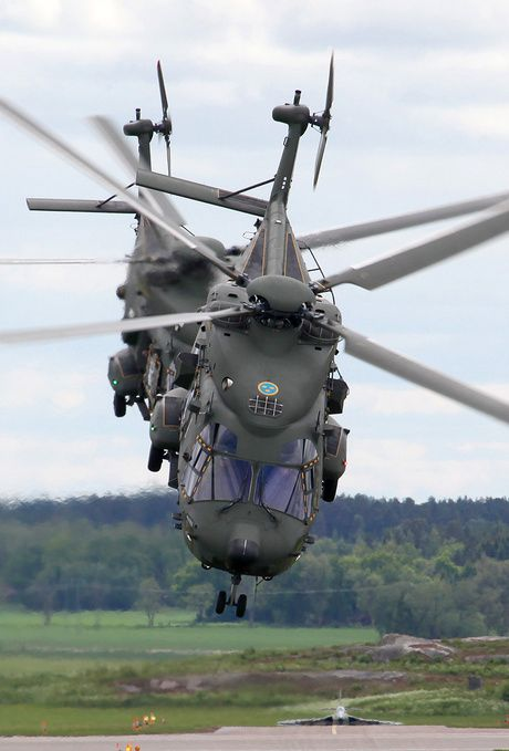 NHI Hkp14B (NH-90 TTH) of the Flygvapnet (Swedish Air Force)