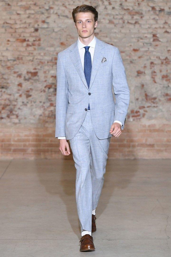 Canali Spring Summer 2019 Menswear Collection Milan
