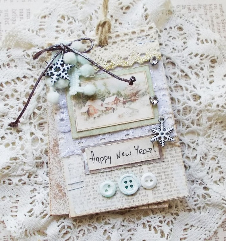 Happy New year card for DT Pion Designg - Scrapbook.com