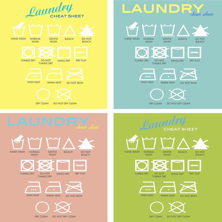 Rambling Renovators: Download: Laundry Symbol Art