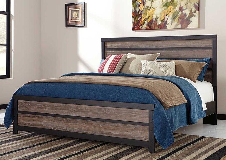 Harlinton King Panel Bed Panel Bed Bedroom Panel Queen Panel Beds