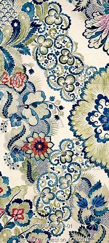 Textile design, by Anna Maria Garthwaite (1690-1763). Watercolour. Spitalfields, London, c.1730.