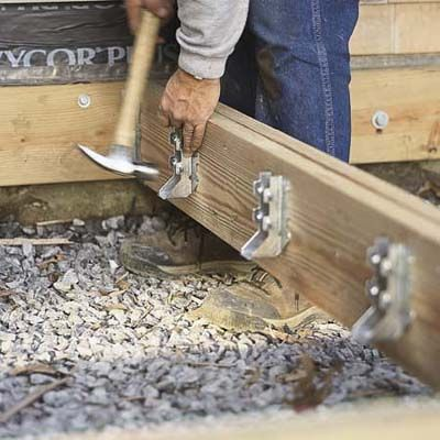 Photo: David Carmack | thisoldhouse.com | from How to Build a Simple Deck
