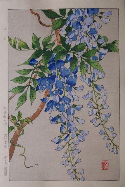 wisteria vintage
