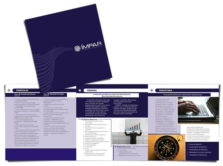 FOLDER Institucional IMPAR    Agência Graphitaria    2008 • Londrina/PR