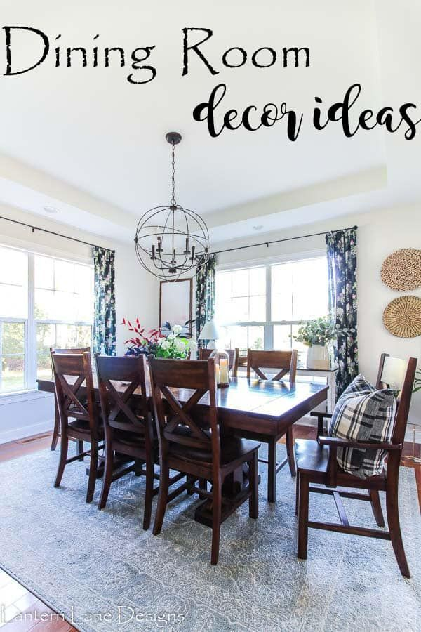Affordable Dining Room Decorating Ideas Farmhouse Style Lighting