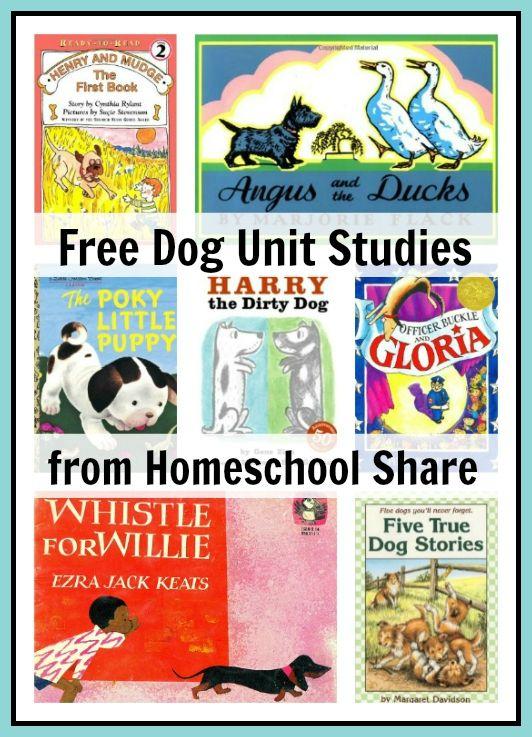 Free Dog Unit Studies and lapbooks at Homeschool Share