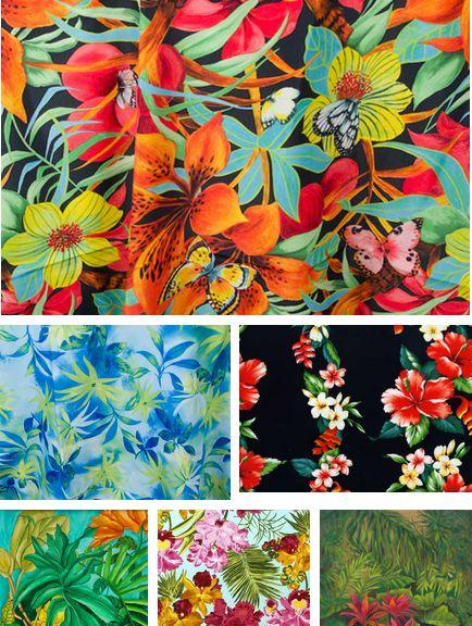 Tropical Prints trend.: 434 576 Pixels, Tropical Trends, Primavera Verano 2013 2014, Prints 2015, Color Concepts Inspirations, Tropical Prints, Floral Tropical