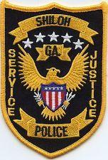 SHILOH GEORGIA POLICE PATCH