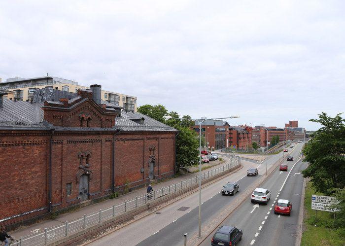 Tågvägen i Sörnäs