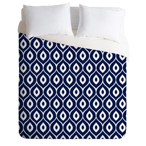 This website is crazy, you could spend hours on it I'm sure!!  Aimee St Hill Leela Navy Duvet Cover