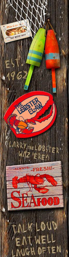 The Lobster Claw in Orleans, MA Cape Cod. For 43 years the Lobster Claw Restaurant has served as an ideal location to enjoy a delicious meal and fine spirits in a comfortable atmosphere for a great price. Whether you are one of our regularly returning customers or are planning on visiting us for the first time, we would like to invite you to enjoy a lunch or dinner at a place that will make you feel like you are right at home.