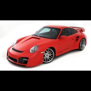 2010 Porsche Wicked-7 gêmeo Turbo GTR-650 aço mega Wide Body SuperCar - Porsche Body Kits e Porsche corpo peças Styling, Porsche Wicked Motor Works