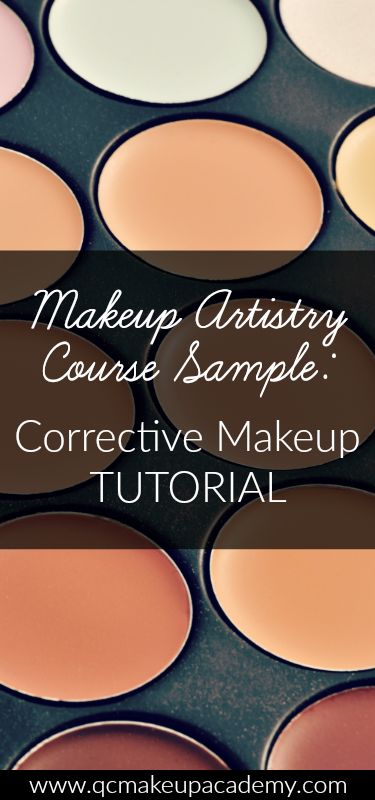 Interested in becoming a makeup artist? QC Makeup Academy's online Makeup Artistry course will help you get there! Learn about #correctivemakeup with this course sample. #makeuptutorial