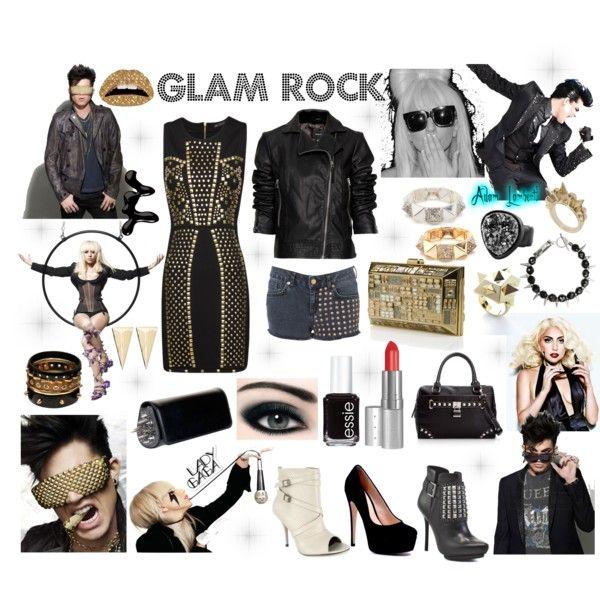 Glam Rock Life Is A Runway Pinterest Rock Rock