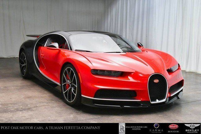 Bugatti Chiron Coupe 2019 South Houston Tx United States New And Used Luxury Cars For Sale By Selected Dealers Aroun Bugatti Chiron Bugatti Used Luxury Cars