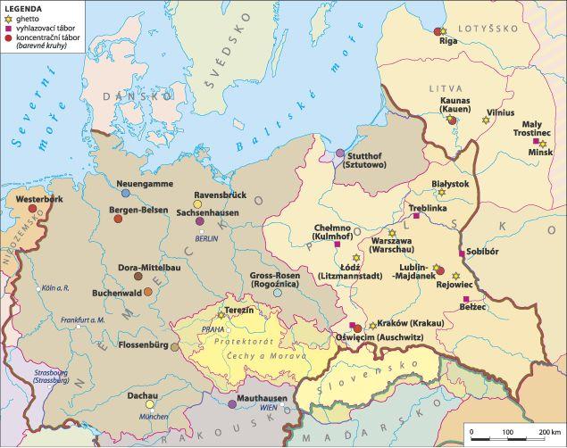 Nazi camps and ghettos - holocaust.cz