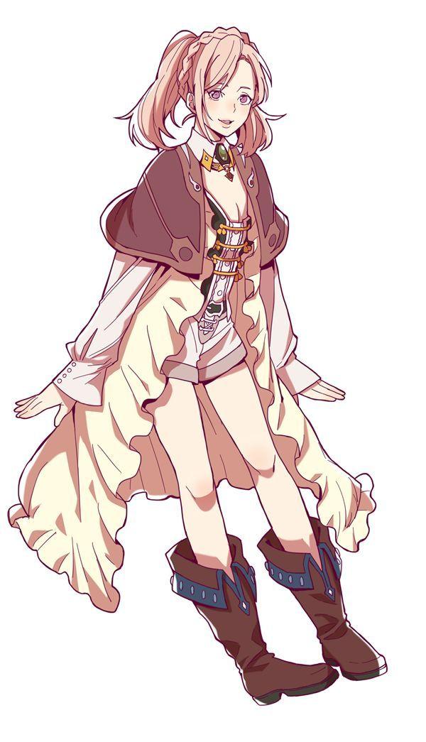 Anime Characters For Poser : Amira shingeki no bahamut genesis
