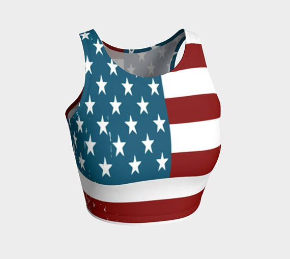 Check out this item in my Etsy shop https://www.etsy.com/ca/listing/517451618/american-proud-crop-top-american-flag