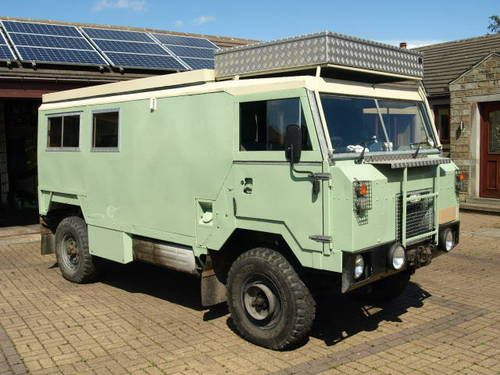 land rover 101 popup camper for sale 1972