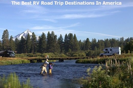 Best RV destinations in America.