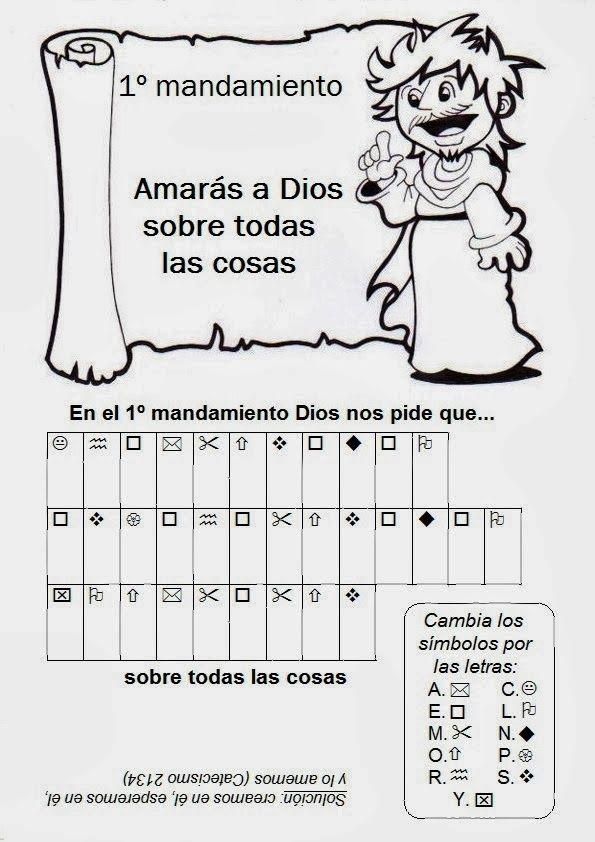 SGBlogosfera. Amigos de Jesús: RECORDAMOS LOS MANDAMIENTOS