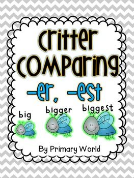 12 best images about suffixes er and est on Pinterest
