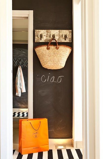 could read Hello  Creative Uses for Chalkboard Paint