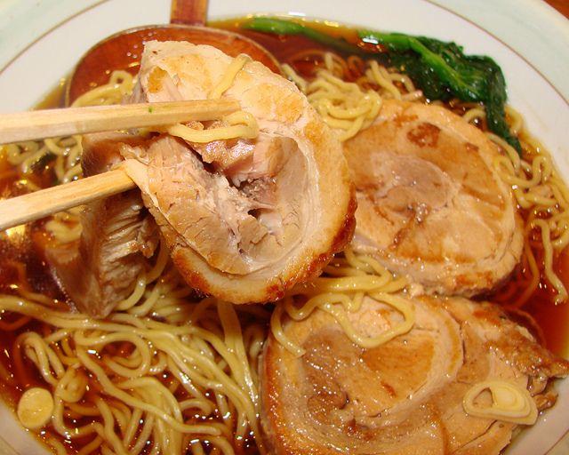 Chashumen – Shoyu Pork Noodle (Ginza District, Tokyo, Japan)
