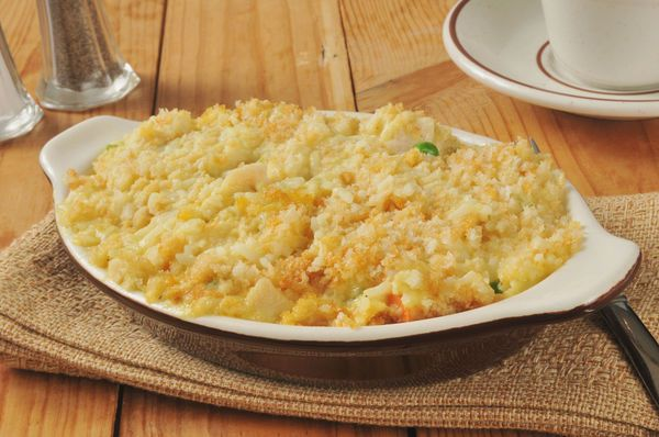 Hearty & Classic Casserole: Creamy Chicken And Rice Bake | 12 Tomatoes