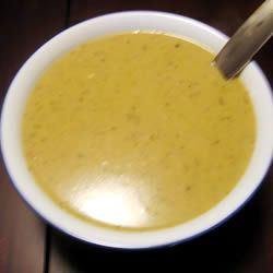 I used Swanson's canned chicken broth (3, 14oz. cans equal 5 cups). One of the cans I used Roasted Garlic chicken broth. 2. I increased the flour by 2 Tablespoons, and added 2 Tablespoons of Corn Starch. 3. I omitted the salt (and I like heavy salt). There's enough saltiness with the broth.