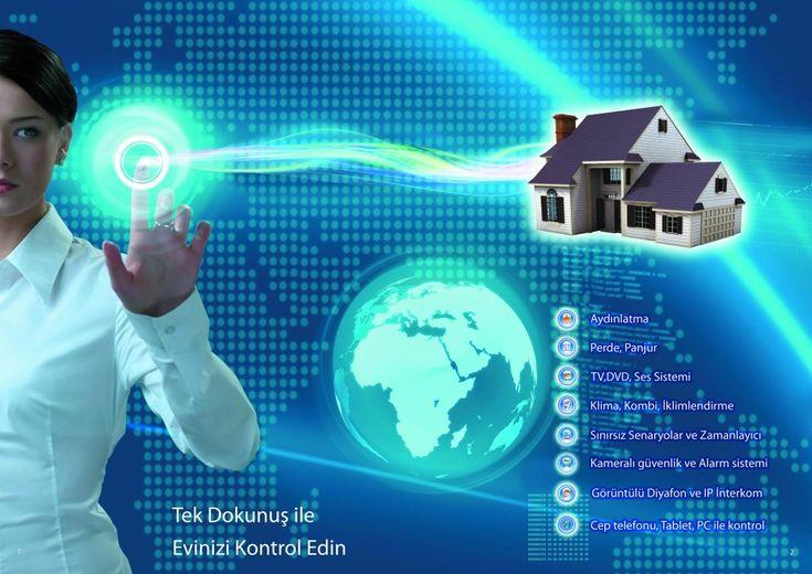 Akıllı Ev Sistemleri Akıllı Bina Ofis Otomasyonu Akıllı Ev Nedir android İos akıllı ev özellikleri