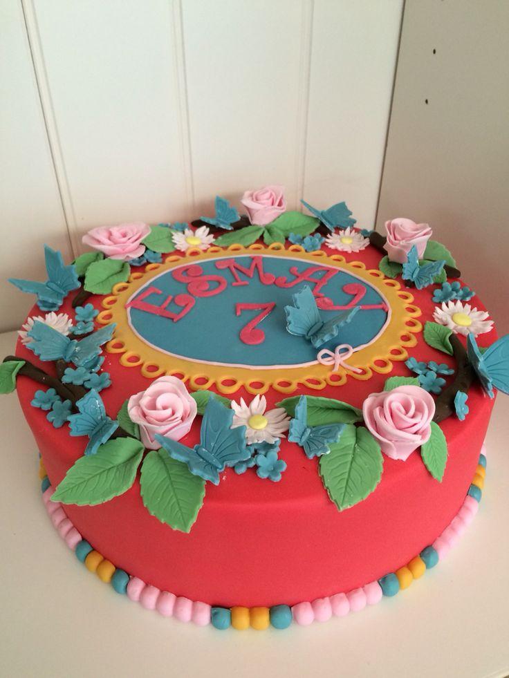 Flowercake by Passie voor Taarten