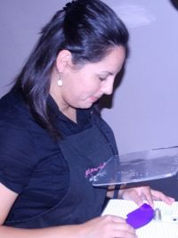 2013 Judge: Jennifer Brown, Founder of Jenny's Stained Glass Creations.