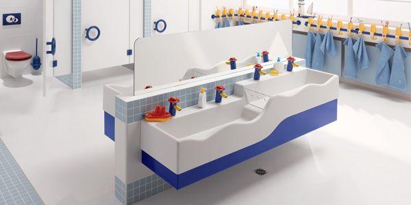 #Karamag #Bambini awesome funky bathroom range for pre-schools