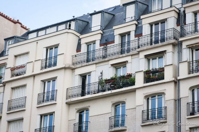 Paris - beautiful apartment building