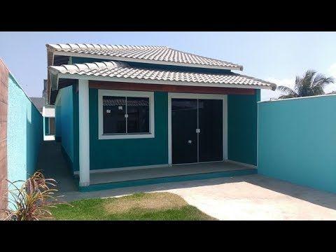 Casa pintada de cruz azul