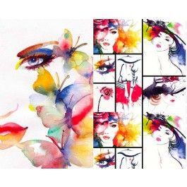 Face art digital tricot panel | PW Hoofs