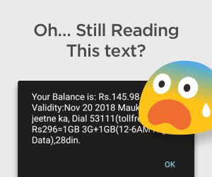 truebalance app - earn Rs.10 free recharge on sign up