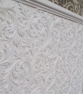 Acanthus Lincrusta Wallcovering http://www.originalfeatures.co.uk/news/the-embossed-wallcoverings
