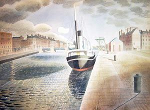 pilot boat, after 65 year, eric ravilious