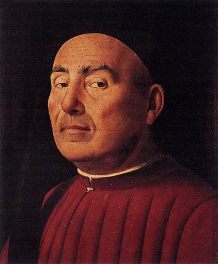 Trivulzio Portrait by Antonello da Messina