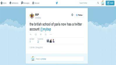 The British School of Paris at twitter