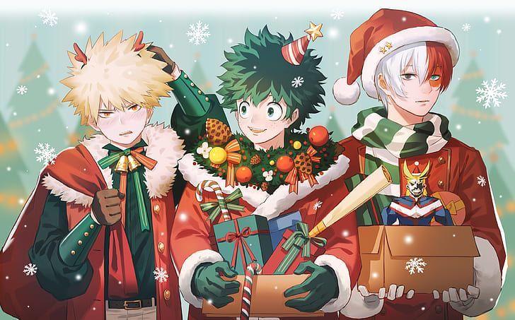 Bnha One Shots Anime Christmas Anime My Hero