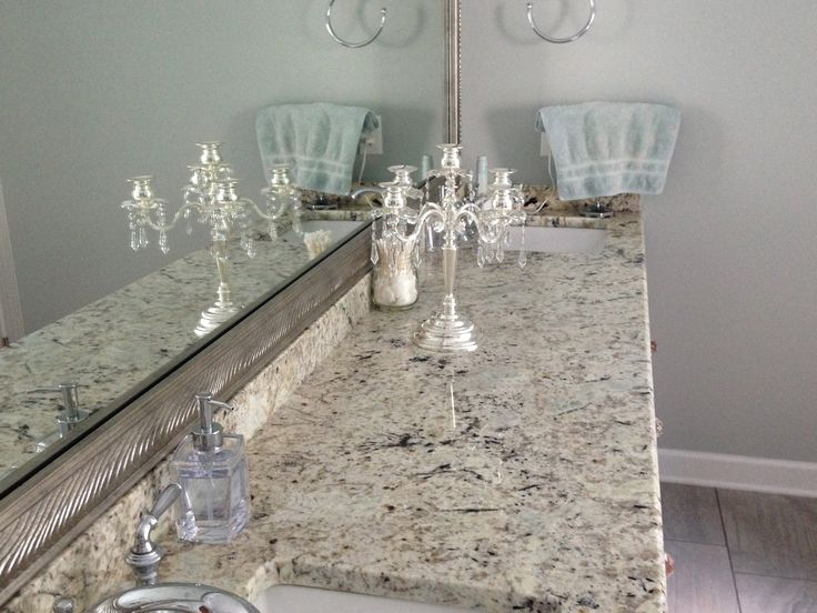 White Galaxy Granite Kitchen Countertops