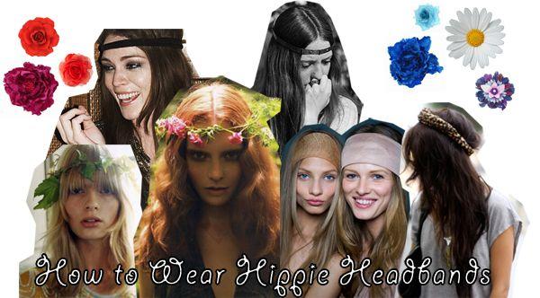 How to Wear Hippie Headbands