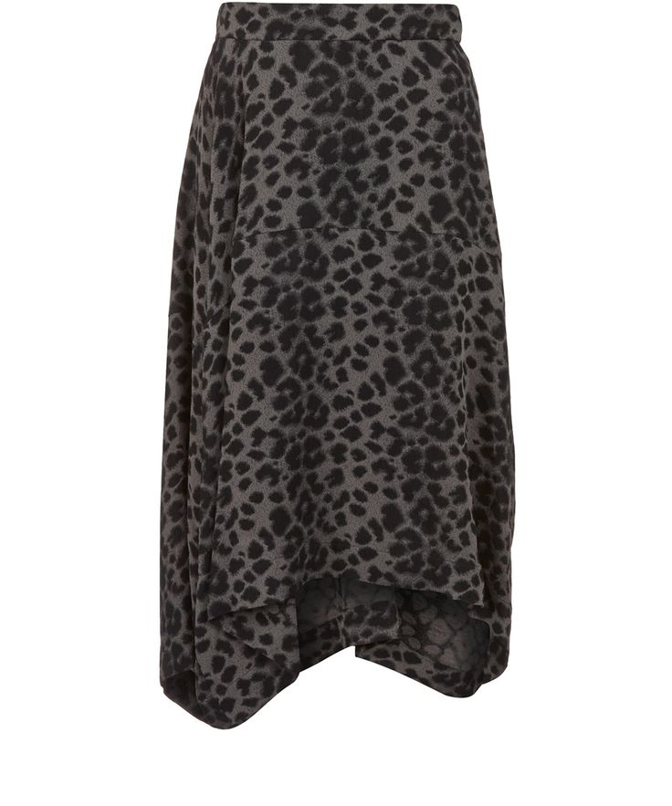Anglomania by Vivienne Westwood Brown Prosperity Leopard Jacquard Skirt | Womenswear | Liberty.co.uk